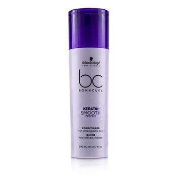 BC Bonacure Keratin Smooth Perfect Conditioner (For Unmanageable Hair)  200ml/6.7oz