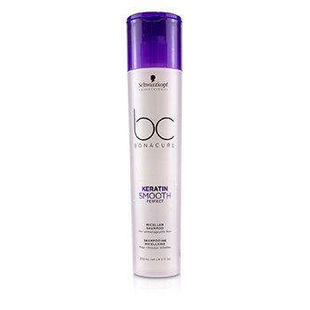 BC Bonacure Keratin Smooth Perfect Micellar Shampoo (For Unmanageable Hair)  250ml/8.5oz