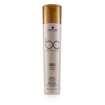 BC Bonacure Q10+ Time Restore Micellar Shampoo (For Mature and Fragile Hair)  250ml/8.5oz