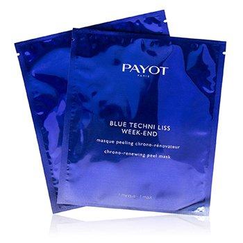 Blue Techni Liss Week-End Chrono-Renewing Peel Mask  10pcs