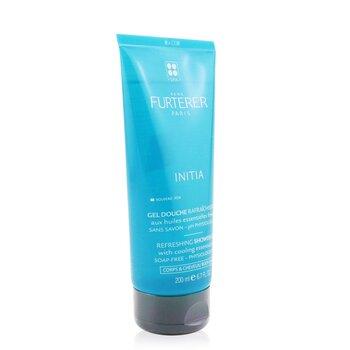 Initia Refreshing Shower Gel - Soap-Free - Physiological pH (Body & Hair)  200ml/6.7oz