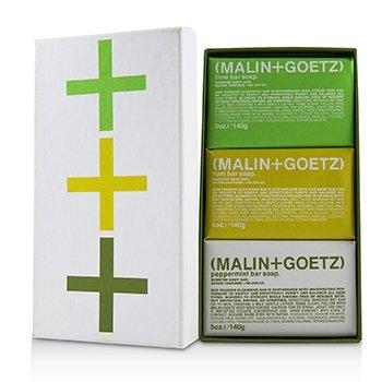 Zestaw Mojito Soap Set: Lime + Rum + Peppermint Bar Soap 3x140g/5oz
