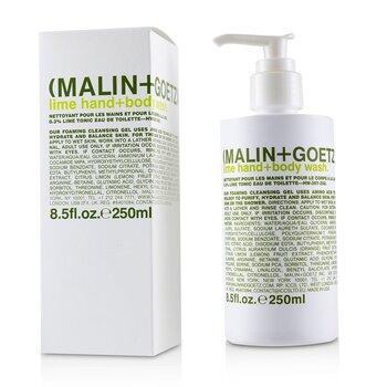 Żel do mycia ciała i rąk Lime Hand+Body Wash  250ml/8.5oz