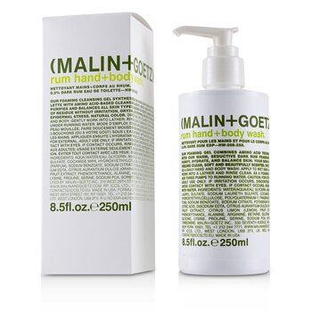 Żel do mycia ciała i rąk Rum Hand+Body Wash  250ml/8.5oz