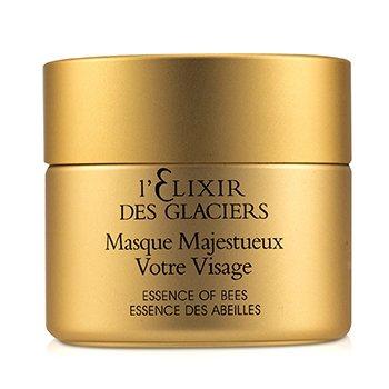 L'Elixir des Glaciers Masque Majestueux Votre Visage  50ml/1.7oz