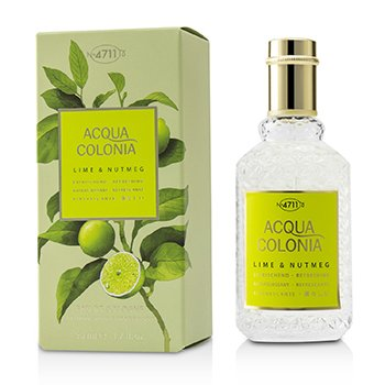 Acqua Colonia Lime & Nutmeg Eau De Cologne Spray  50ml/1.7oz