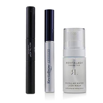 Eye Perfecting Gift Collection : (1x Eyebrow Conditioner, 1x Conditioning Eye Makeup Remover, 1x Volumizing Mascara Black)  3pcs