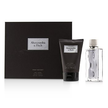 First Instinct Coffret: Eau De Toilette Spray 50ml/1.7oz + Hair & Body Wash 100ml/3.4oz  2pcs