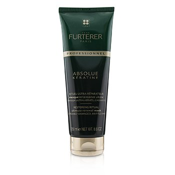 Absolue Kèratine Restoring Ritual Ultimate Renewal Mask - Extremely Damaged, Brittle Hair (Salon Product)  250ml/8.6oz
