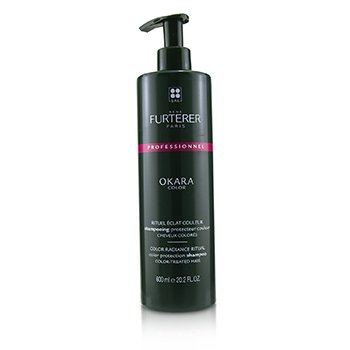 Okara Color Color Radiance Ritual Color Protection Shampoo - Color-Treated Hair (Salon Product)  600ml/20.2oz