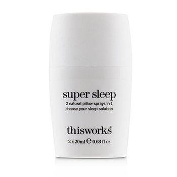 Super Sleep Pillow Spray  2x20ml/0.68oz