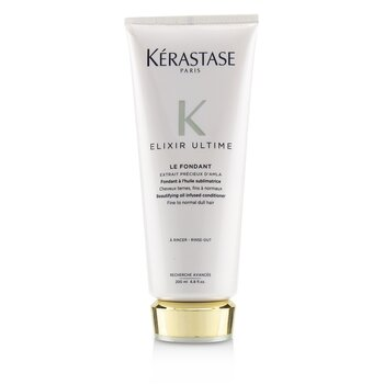 Elixir Ultime Le Fondant Beautifying Oil Infused Conditioner (Fine to Normal Dull Hair)  200ml/6.8oz
