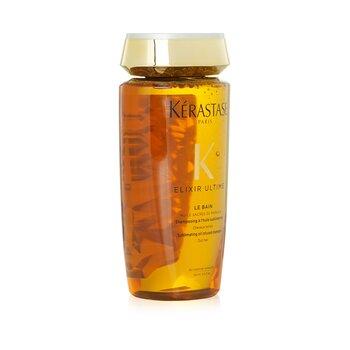 Elixir Ultime Le Bain Sublimating Champú Infundido de Aceite (Cabello Opaco)  250ml/8.5oz