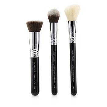 Finished Face Brush Set 3pcs