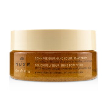 Reve De Miel Deliciously Nourishing Body Scrub - For Dry & Sensitive Skin  175ml/6.7oz