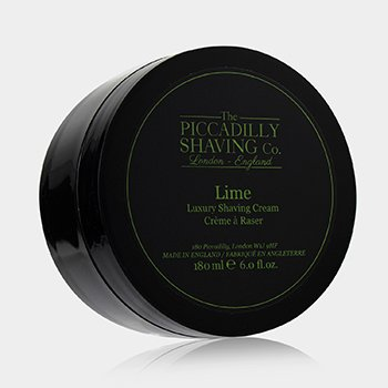 The Piccadilly Shaving Co. Lime Luxury Shaving Cream  180ml/6oz