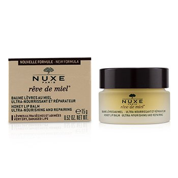 Reve De Miel Ultra-Nourishing & Repairing Honey Lip Balm - For Very Dry, Damaged Lips  15ml/0.52oz