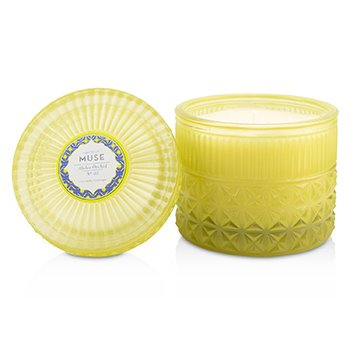 Muse Faceted Jar Candle - Aloha Orchid  312g/11oz