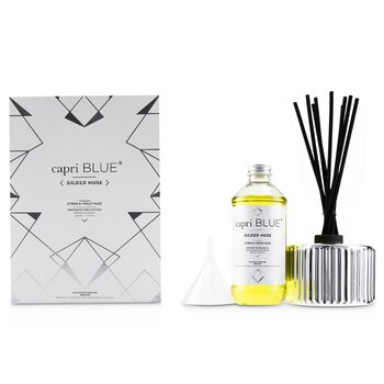 Gilded Muse Reed Diffuser - Citrus & Violet Haze  230ml/7.75oz