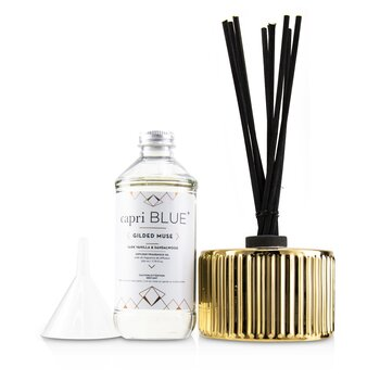 Gilded Muse Reed Diffuser - Dark Vanilla & Sandalwood  230ml/7.75oz