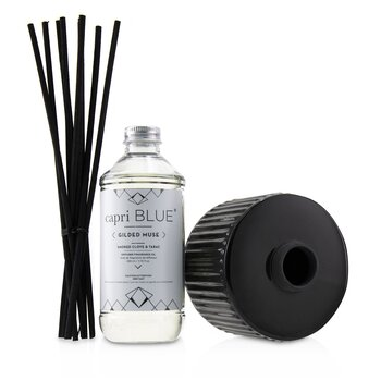Gilded Muse Reed Diffuser - Smoked Clove & Tabac  230ml/7.75oz