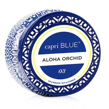 Printed Travel Tin Candle - Aloha Orchid 241g/8.5oz