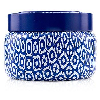 Printed Travel Tin Candle - Blue Jean  241g/8.5oz