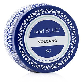 Printed Travel Tin Candle - Volcano  241g/8.5oz