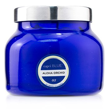 Blue Jar Candle - Aloha Orchid  226g/8oz