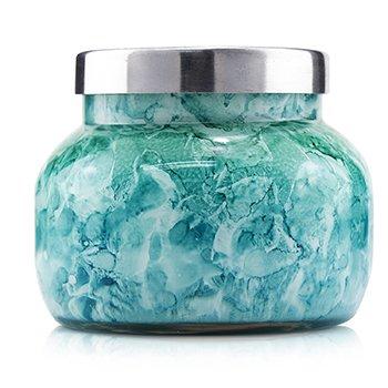 Watercolor Jar Candle - Volcano  8oz
