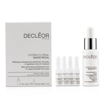 Hydra Floral White Petal Skin Perfecting Professional Mix (1x Concentrate 30ml, 10x Powder 4g) - Salon Product  -