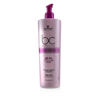 BC Bonacure pH 4.5 Color Freeze Micellar Cleansing Conditioner (For  Coloured Hair)  500ml/16.9oz