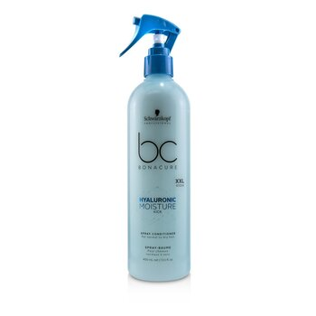 BC Bonacure Hyaluronic Moisture Kick Spray Conditioner (For Normal to Dry Hair)  400ml/13.5oz