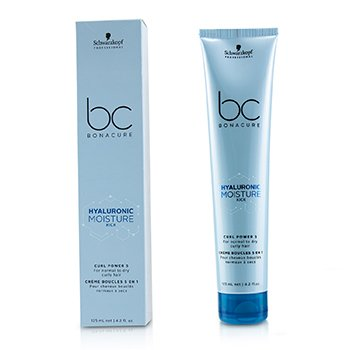 BC Bonacure Hyaluronic Moisture Kick Curl Power 5 (For Normal to Dry Curly Hair)  125ml/4.2oz