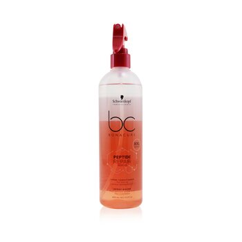 BC Bonacure Peptide Repair Rescue Spray Conditioner (For Fine to Normal Damaged Hair)  400ml/13.5oz