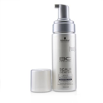 BC Bonacure Scalp Genesis Root Activating Densifying Foam (For Thinning Hair)  150ml/5oz