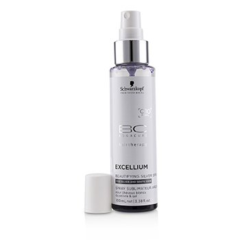 BC Excellium Q10+ Pearl Beautifying Silver Spray (For Silver and White Hair)  100ml/3.38oz