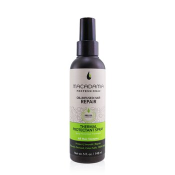 Professional Thermal Protectant Spray (All Hair Textures)  148ml/5oz