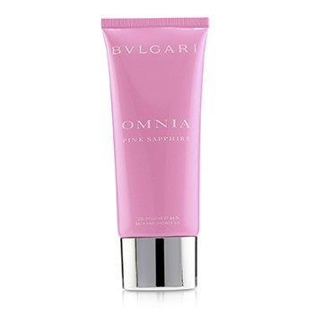 Omnia Pink Sapphire Bath & Shower Gel  100ml/3.4oz