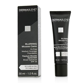 Podkład do twarzy z filtrem UV Blurring Mousee Camo Oil Free Foundation SPF 25 (Medium Coverage)  30ml/1oz