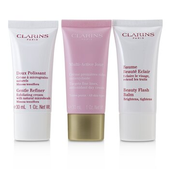 Multi-Active 30+ Anti-Ageing Skincare Set: Gentle Refiner 30 מ