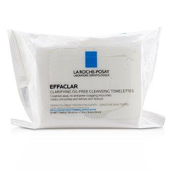 Effaclar Toallitas Limpiadoras Aclarantes Libre de Aceite 25wipes