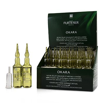 Okara Color and Tone Radiance Ritual Color-Binding Oil (Color Treatments, Highlights, Bleached Hair)  24x10ml/0.33oz