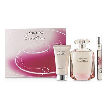 Ever Bloom Coffret: Eau De Parfum Spray 90ml/3oz + Perfumed Body Lotion 50ml/1.6oz + Eau De Parfum Spray 10ml/0.33oz  3pcs