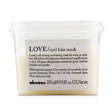 Love Curl Hair Mask (Lovely Curl Taming Nourishing Mask For Wavy or Curly Hair)  250ml/8.85oz