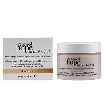 Renewed Hope In A Jar Skin Tint  Whipped Water Gel SPF 20 - # 4.5 Nude (Exp. Date: 12/2019) 30ml/1oz