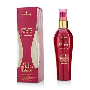 زيت BC Oil Miracle Brazilnut Talent 10 (لجميع أنواع الشعر) (تاريخ الانتهاء: 11/2019) 100ml/3.3oz