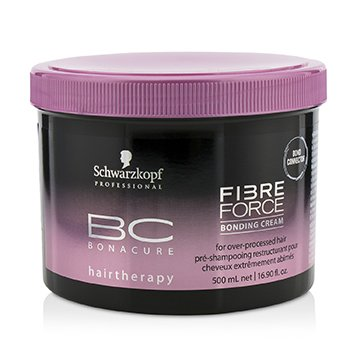 BC Bonacure Fibre Force Bonding Cream - For Over-Processed Hair (Exp. Date: 11/2019)  500ml/16.9oz