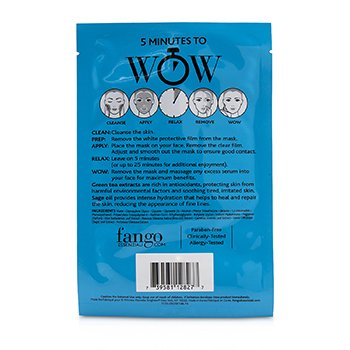 Fango Essenziali Calm Treatment Sheet Masks  4x25ml/0.83oz