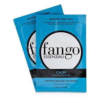 Fango Essenziali Calm Tratamiento Mascarilla en Hojas  4x25ml/0.83oz